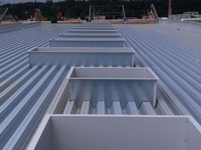 Dach hali wykonanie 2