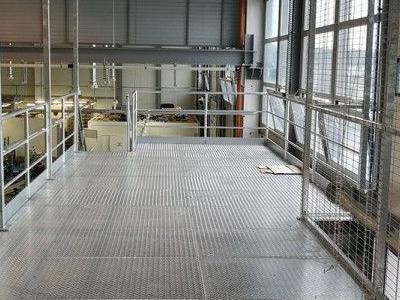 Budowa konstrukcji stalowej obornika 5