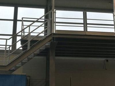 Budowa konstrukcji stalowej obornika 4