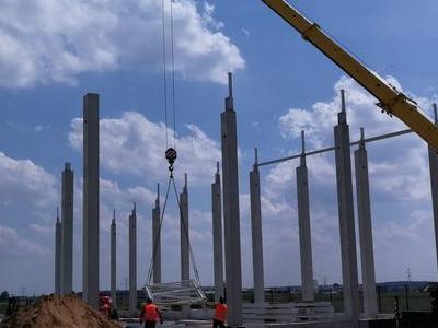 Budowa hali w Plewiskach 15