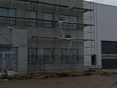 Budowa hali w Plewiskach 9