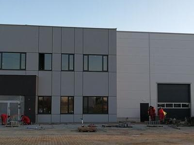 Budowa hali w Plewiskach 8