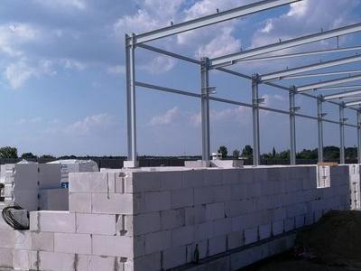 Budowa hali w Kowanowku 12
