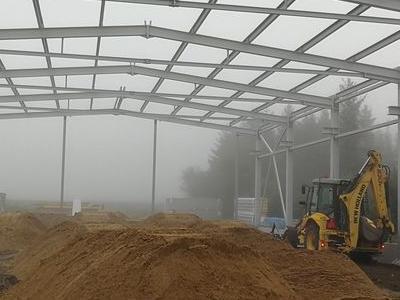 Budowa hali w Kowanowku 10